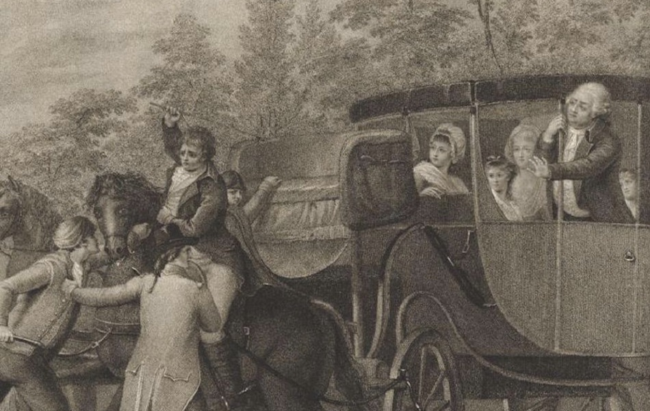 L'arrestation de Louis XVI à Varennes